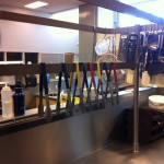 The caf. kitchen/ classroom at Vernon SS