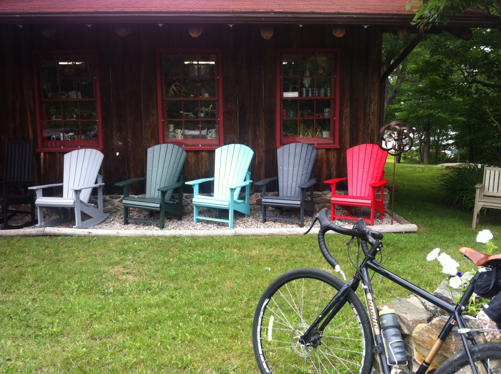 The iconic Muskoka chairs